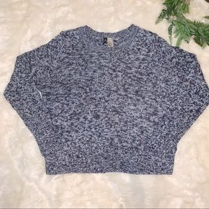 ♡3/$20♡ Divided   Blue Knit Soft Comfy Sweater